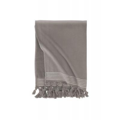 Hammam Handtuch Weiche Baumwolle Taupe - 100x180 cm