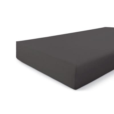 Hoeslaken Jersey Stretch Antraciet - 90x200/210 cm