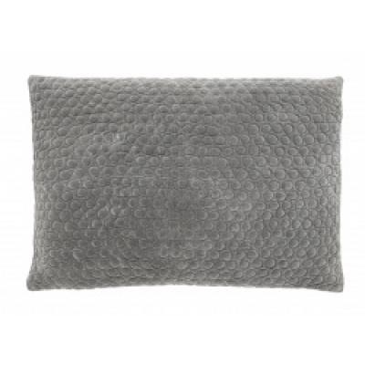 MIZAR kussenhoes grijs fluweel