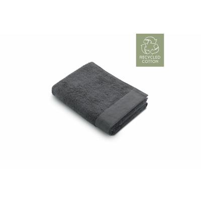Bad Tuch Remade Baumwolle Anthrazit - 60x110 cm