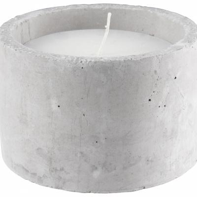 Kerzenzement Ø12x8cm