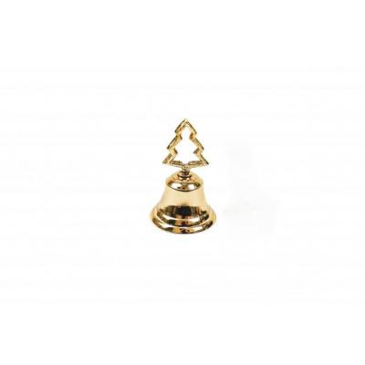 Butler Bel - kerstboom - goud- 6x6x10
