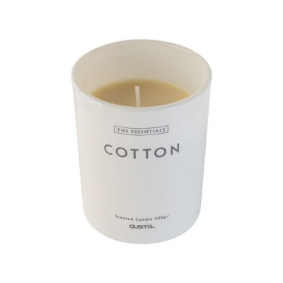 Geurkaars cotton ø8x10cm