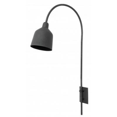 City Wandlamp, Mat Zwart