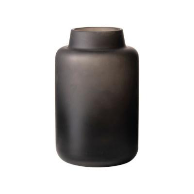 Vaas glas ø10x16cm zwart