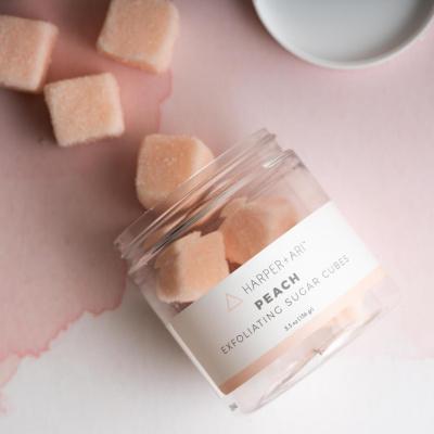 Perzik Sugar Cubes Scrub