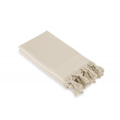 Gastendoek Soft Cotton Hamam Kiezel Grijs (set 2 stuks) - 30x50 cm