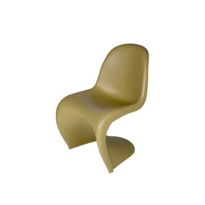 S-Stuhl-Polyester-Ocker-Gelb