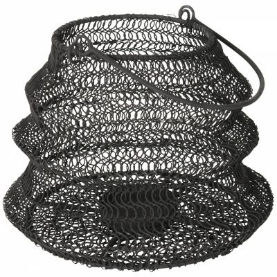 Opvouwbaar windlicht ø20x15cm Zwart
