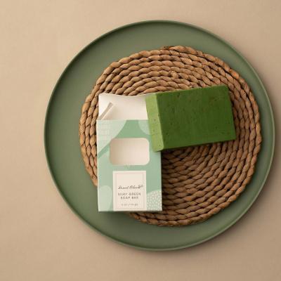Silky Green Handgemaakte Zeep