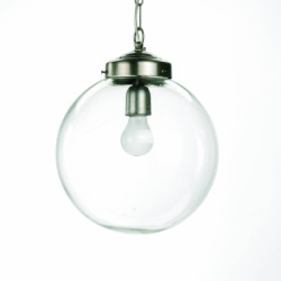 Lamp Voor Plafond, Glazen Bol, Ø-30