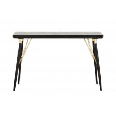 Console tafel zwart hout