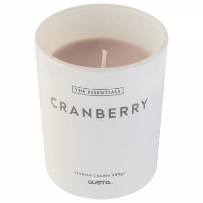 Duftende Kerze Ø8x10cm Cranberry