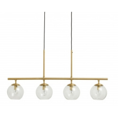 GLOBE lamp 4-in-one messing hangend