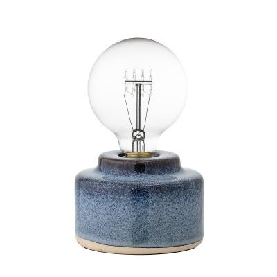 Cait tafellamp blauw porselein