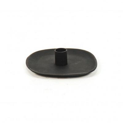 Kandelaar Zwart- Vierkant- 14,5x3cm