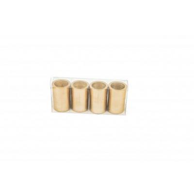 Kandelaar Magneten - Goud - set van 4