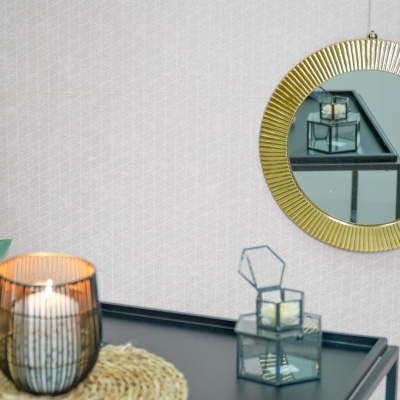 Spiegel Rond Goud - 32x32x2cm