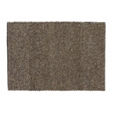 FIA-Teppichwolle grau / braun