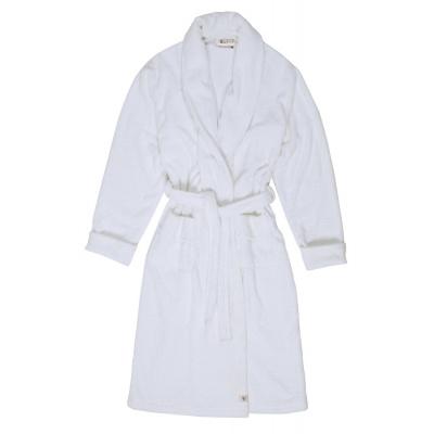 Badjas Home Robe Wit - S/M