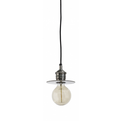 Opknoping Lamp, Klein, Antiek Zilver