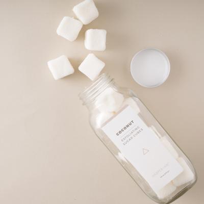 Kokosnoot Sugar Cubes Scrub