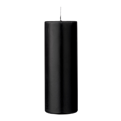Anja Candle Black Parafin