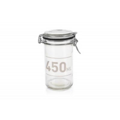 Glasklemmekrug, 450 ml