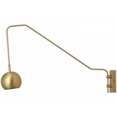 Athene Gouden Wandlamp, Globe