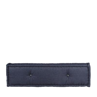 Lounge Matratze Marokko Jeans blau 80x80x15