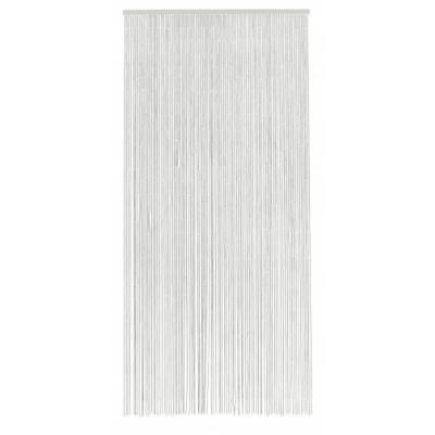 Bamboegordijn W. 90 Strings, Wit