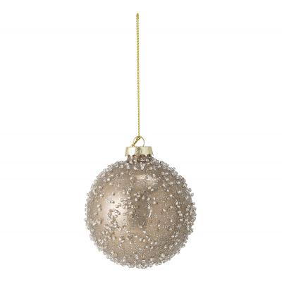 Ove ornament zilverglas