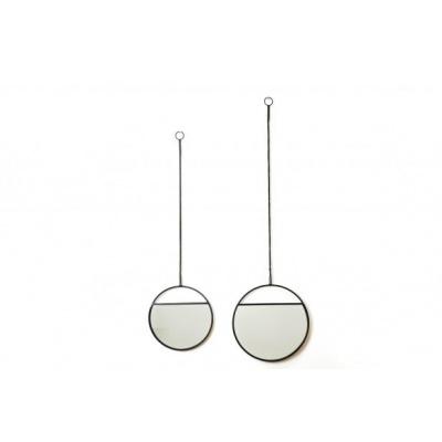 Hangende Spiegel Set 25/30x2x90/100