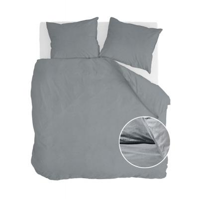 Dekbedovertrek Vintage Cotton Elephant Grey - 240x220 cm