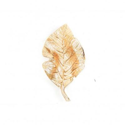Schaal Blad - Goud - 16x8,5x3,5cm