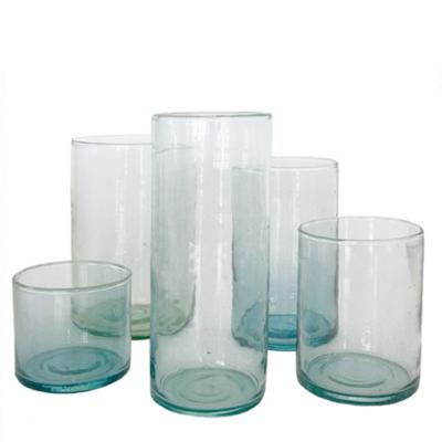 Vaas Cylinder Glas Transparant L