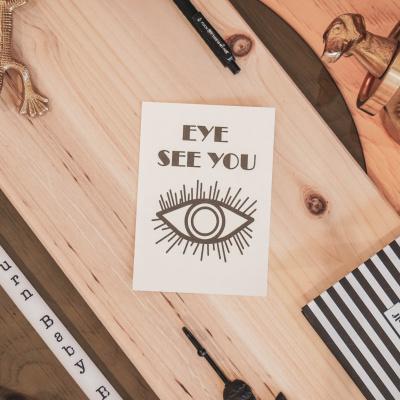 Kaart Eye See You-A6