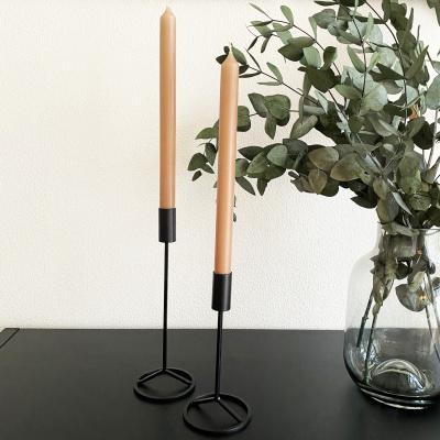 Kerzenständer schwarz - 27 cm