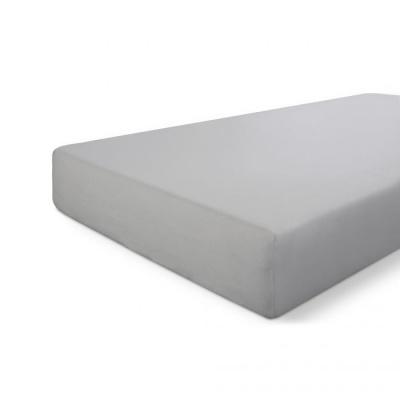 Hoeslaken Crispy Cotton Grijs - 160x220 cm