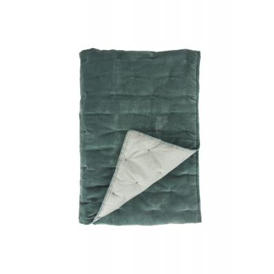 Plaid Velvet Touch Groen - 130x180 cm