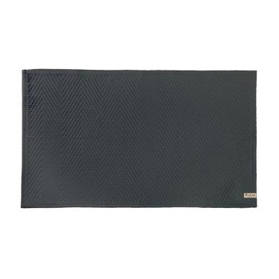 Badmat Soft Cotton Antraciet - 60x100 cm