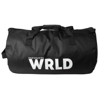 Weekendtas zwart - WRLD