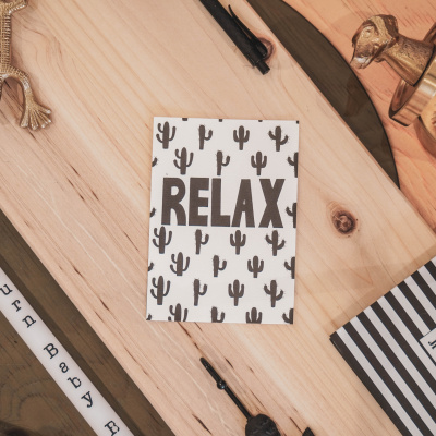 Quote Kaart Relax-A6