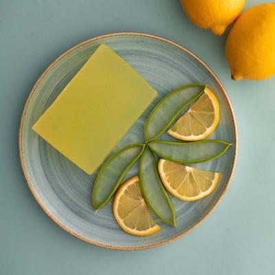 Zesty Lemon Handgemaakte Zeep