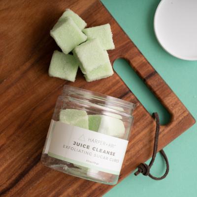 Juice Cleanse Sugar Cubes Scrub