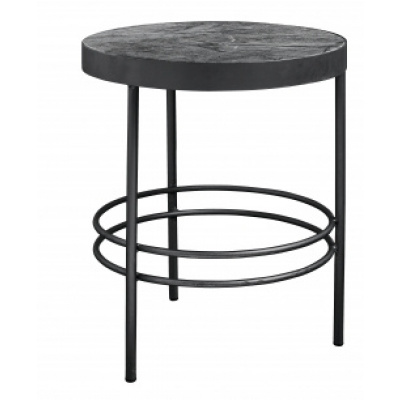 Middernacht Round Side Table