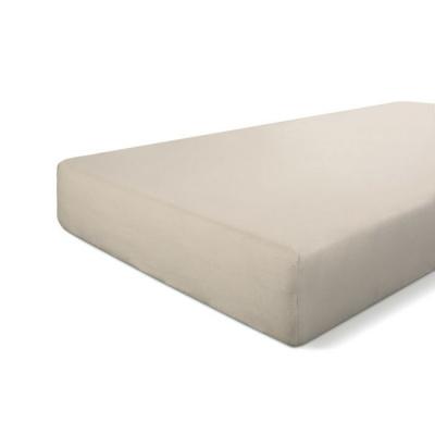Hoeslaken Crispy Cotton Zand - 160x220 cm