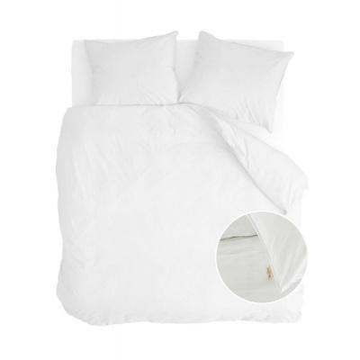 Dekbedovertrek Vintage Cotton Wit - 240x220 cm