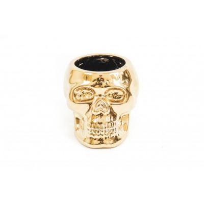 Skull Pot- Goud- 15,5x12,5x11,5cm