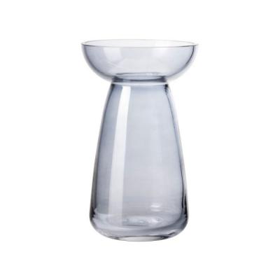Vaas glas ø11x18cm blauw